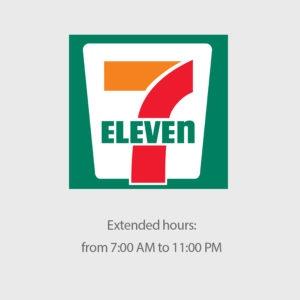 Thương hiệu Seven Eleven đặt tên theo giờ mở cửa công ty.